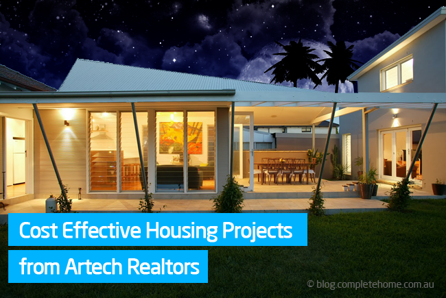 Cost effective housing projects artech realtors kerala for Cost effective homes
